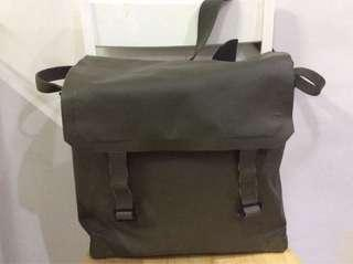 French Army water proof messenger bag