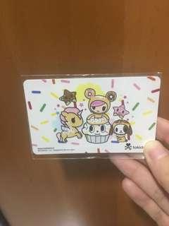 Ez Link Card (free mailing) - Tokidoki Donutella and Friends ezlink