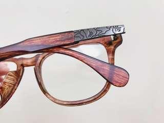 🦍Ape 輕木紋鏡框👓