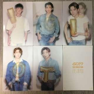 [WTS] GOT7 Eyes On You Tour Lenticular Photo Postcard