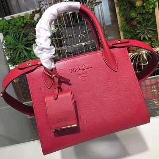 Prada Saffiano Leather Lady's Bag