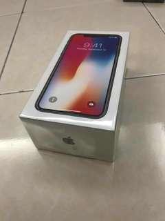 New Iphone X 256gb MYSET