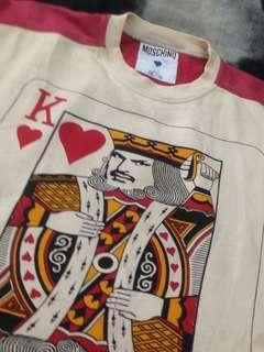 Moschino king of heart