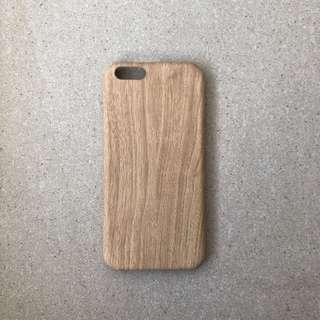 🚚 Light Tone Wooden Pattern iPhone Case
