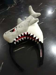 Shark hairband for children