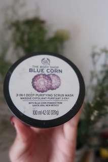 The Body Shop Blue Corn Scrub Mask