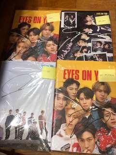 Mwave Got7 Eyes On You Album Signed Mark Youngjae Bambam Yugyeom
