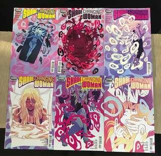 DC Comics: Shade the Changing Woman (#1 to 6)