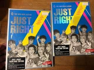 Got7 Thai Thailand Just Right Unsealed Album