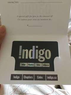 Chapters/Indigo $50 Gift Card