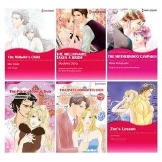 Paket Ebook Komik Harlequin English 16