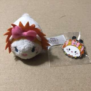 香港 迪士尼 徽章 DISNEY PIN Tsum Tsum Fun Fair 2018 Marie