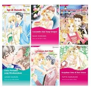 Paket Ebook Komik Harlequin Terjemahan 37