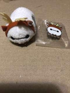 香港 迪士尼 徽章 DISNEY PIN Tsum Tsum Fun Fair 2018 BayMax