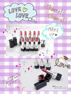 Christian Dior Rouge Dior 傲姿唇膏 💋520# 999# 999 Matte# 766 Rose Harpers# 888 Strong Matte#