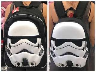 Starwars storm trooper 3D bag