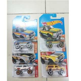 Hot Wheels Chevy Blazer