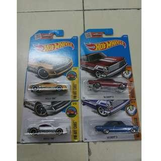 Hot Wheels Chevy and Muscle Tone