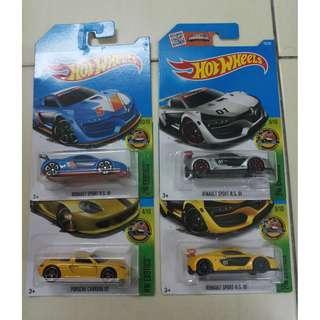 Hot Wheels Renault Sports