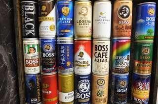 (徵求) Boss coffee罐