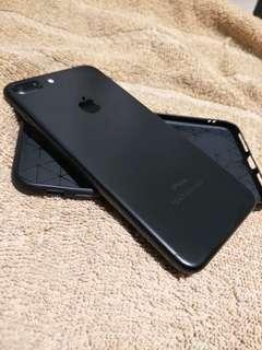 Iphone 7plus 256gig matte black openline. F.u