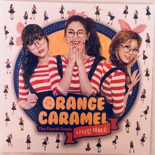ORANGE CARAMEL - MY COPYCAT ALBUM (KPOP) + ZICO PHOTOCARD