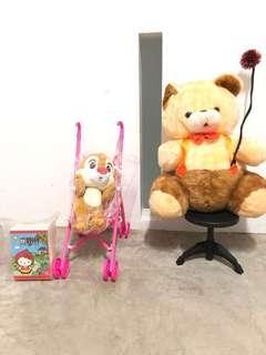 Hello kitty Disney big bear plushie Soft toy stuffed
