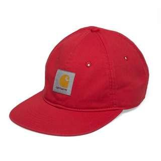 🚚 CARHARTT WIP X PACCBET 聯名 紅色 6 panrel 老帽 棒球帽 六分帽 帆布 超新二手