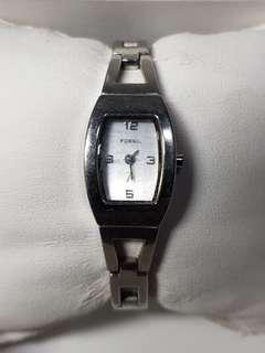 Authentic Fossil Watch for ladies with stainless steel
