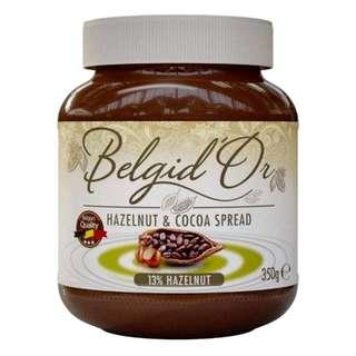 Fizzoto Belgid'Or Belgian Cocoa Hazelnut Spread