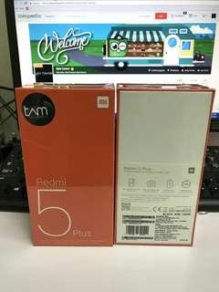 Xiaomi Redmi 5 Plus 100% Original Kredit & Cash