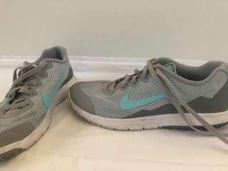 Nike Shoes Size US7.5 Grey and Blue Colour
