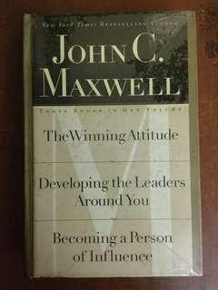 John Maxwell 3 books in 1 volume