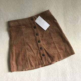 Zara Corduroy Skirt