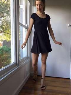 Suede like dress