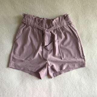 Fashion Nova Tie Shorts