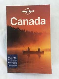 Canada Lonely Planet Book
