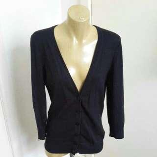 Gordon Smith Brand Straight Neck Cardigan Size M