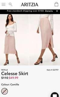 Aritzia Wilfred Celesse Skirt