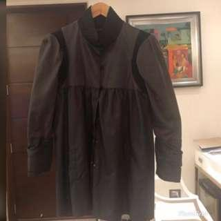 Black and Grey Coat