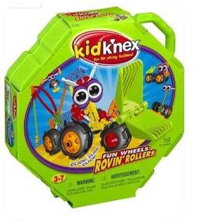 Kid K'Nex Fun Wheels Rovin' Rollers