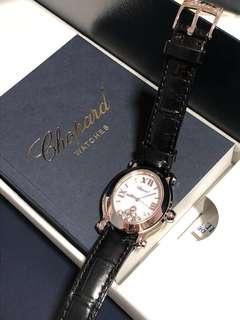 Chopard Happy Sport Oval Watch (7 Diamonds)