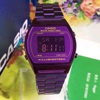 Purple Casio
