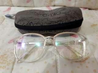 Oversized Anti vertigo/fatigue eyeglasses