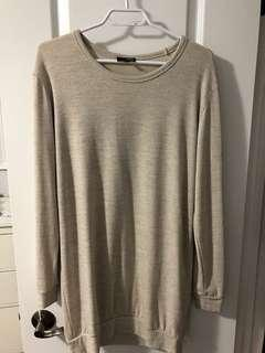 Aritzia Wilfred free S sweater dress
