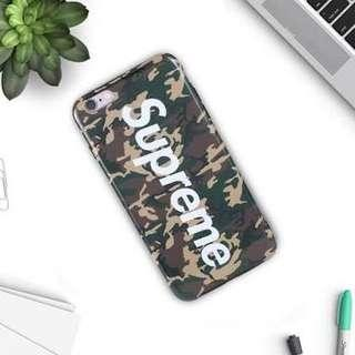 Supreme camoflage iPhone 6/6S case