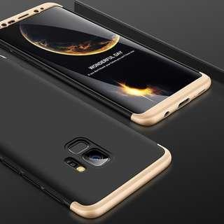 🚚 Gold/Black 3 in 1 Case For Samsung, Iphone, XiaoMi Phones