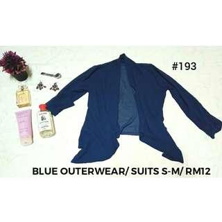 #193-Blue Outerwear