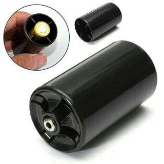 AA to D Size Battery Adaptor Convertor Nerf Blaster - Rival Nemesis Khaos - Elite Stampede Hyperfire Rhinofire