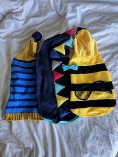 Dog jumper & bowtie pack